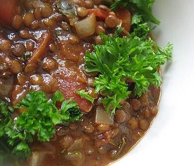 Mediterranean Lentil Soup Zoes Kitchen Recipe