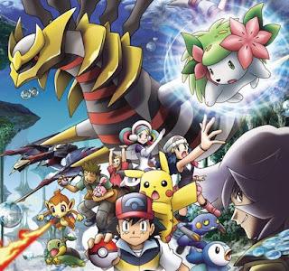 Deafz Mix Pokemon Giratina And The Sky Warrior