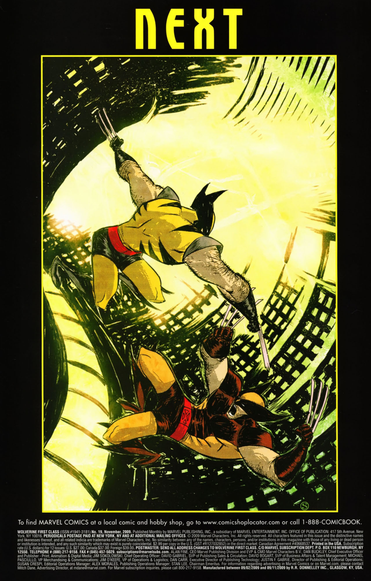 Read online Wolverine: First Class comic -  Issue #19 - 23