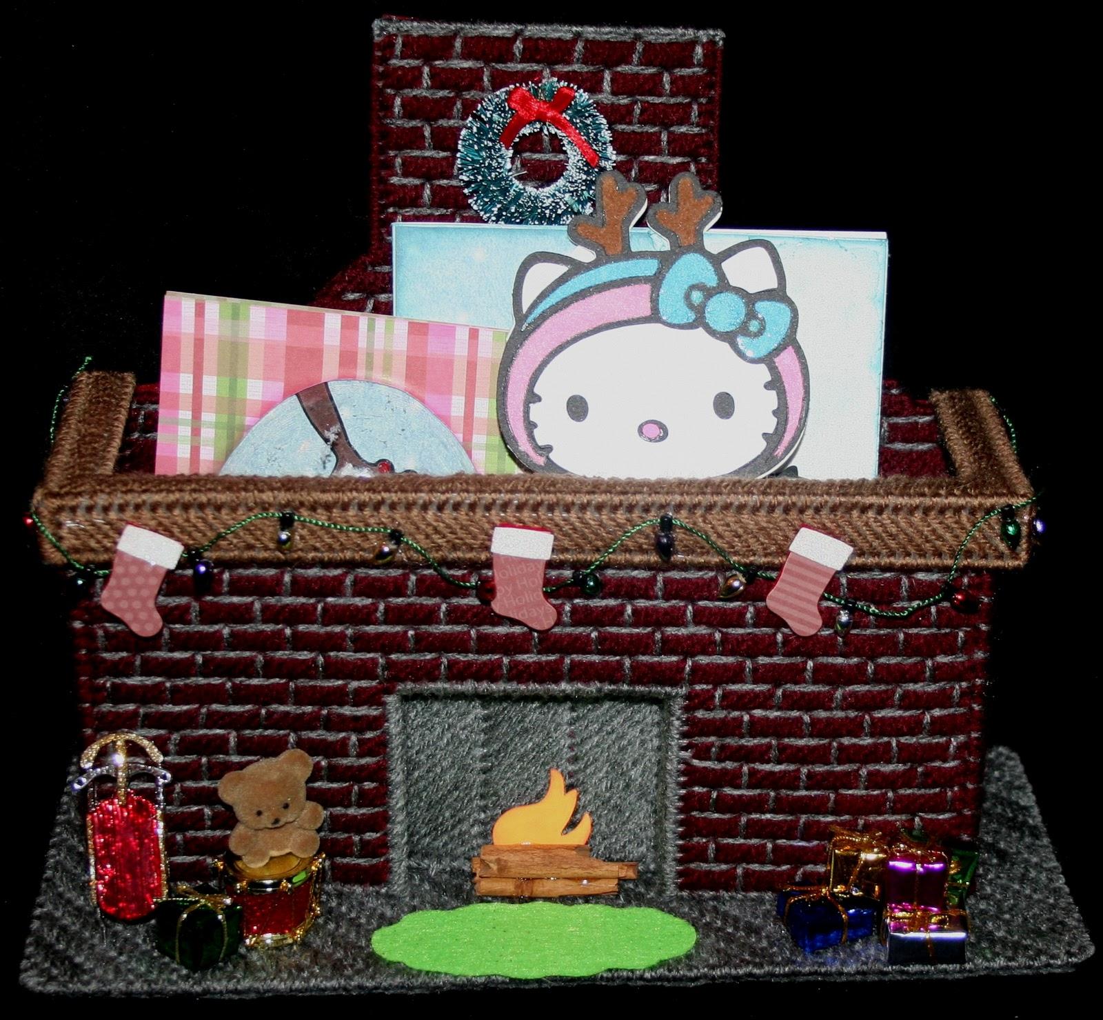 My Little Spot of Sanity: Fireplace Card Holder