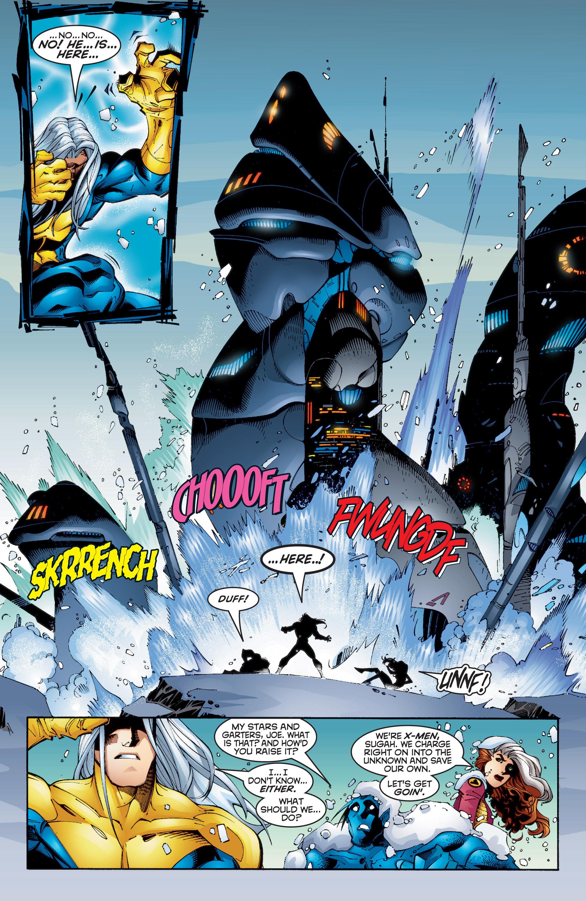 Read online Uncanny X-Men (1963) comic -  Issue #350 - 14