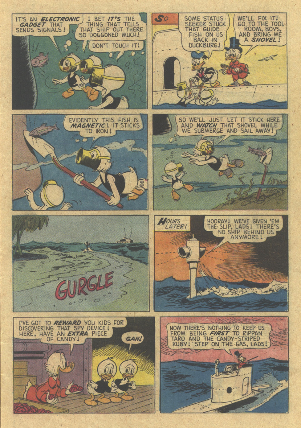 Read online Uncle Scrooge (1953) comic -  Issue #98 - 15