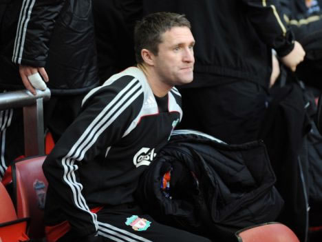 Does Keane know that he'll be warming the bench?
