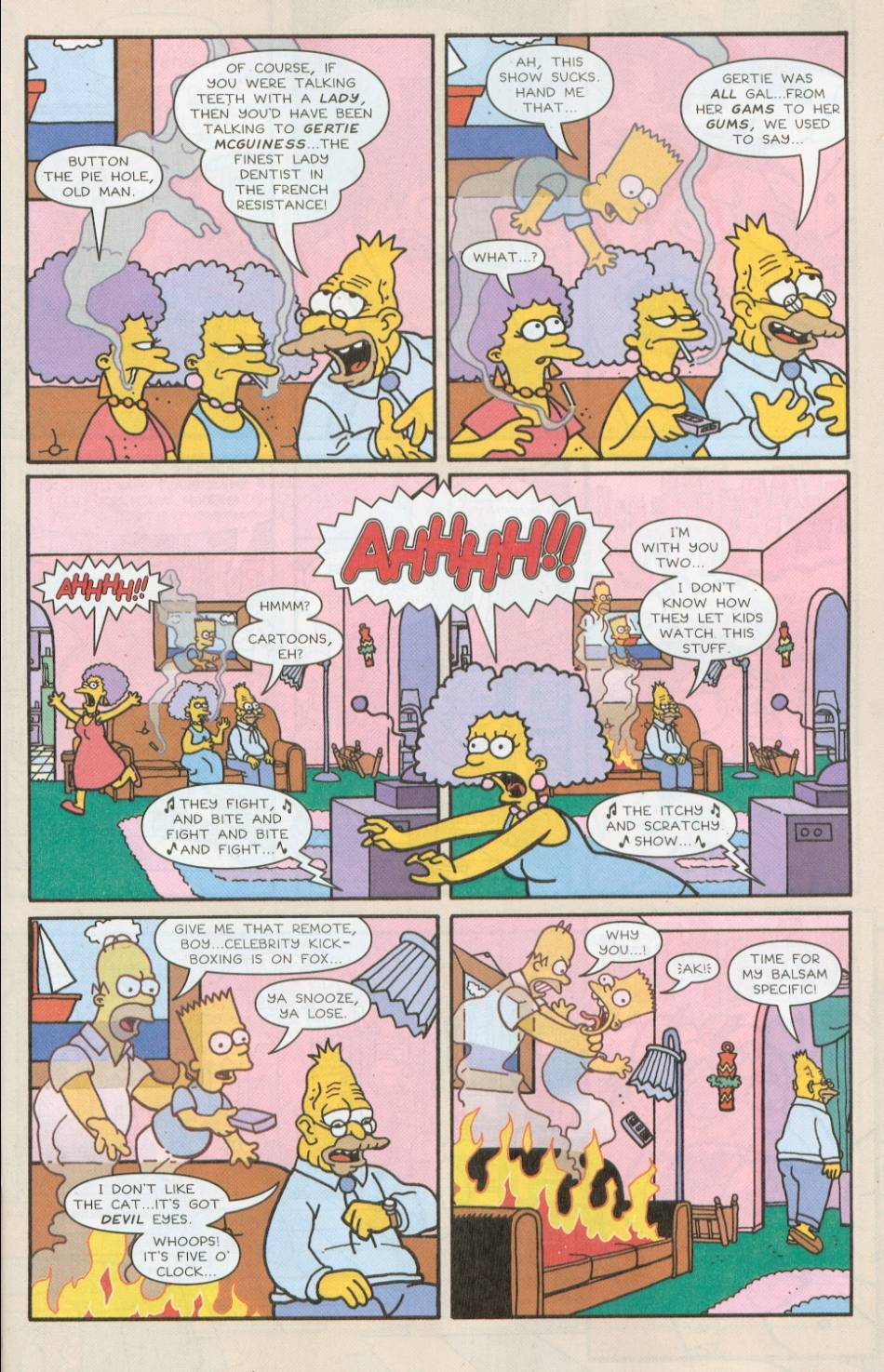 Read online Treehouse of Horror comic -  Issue #8 - 8