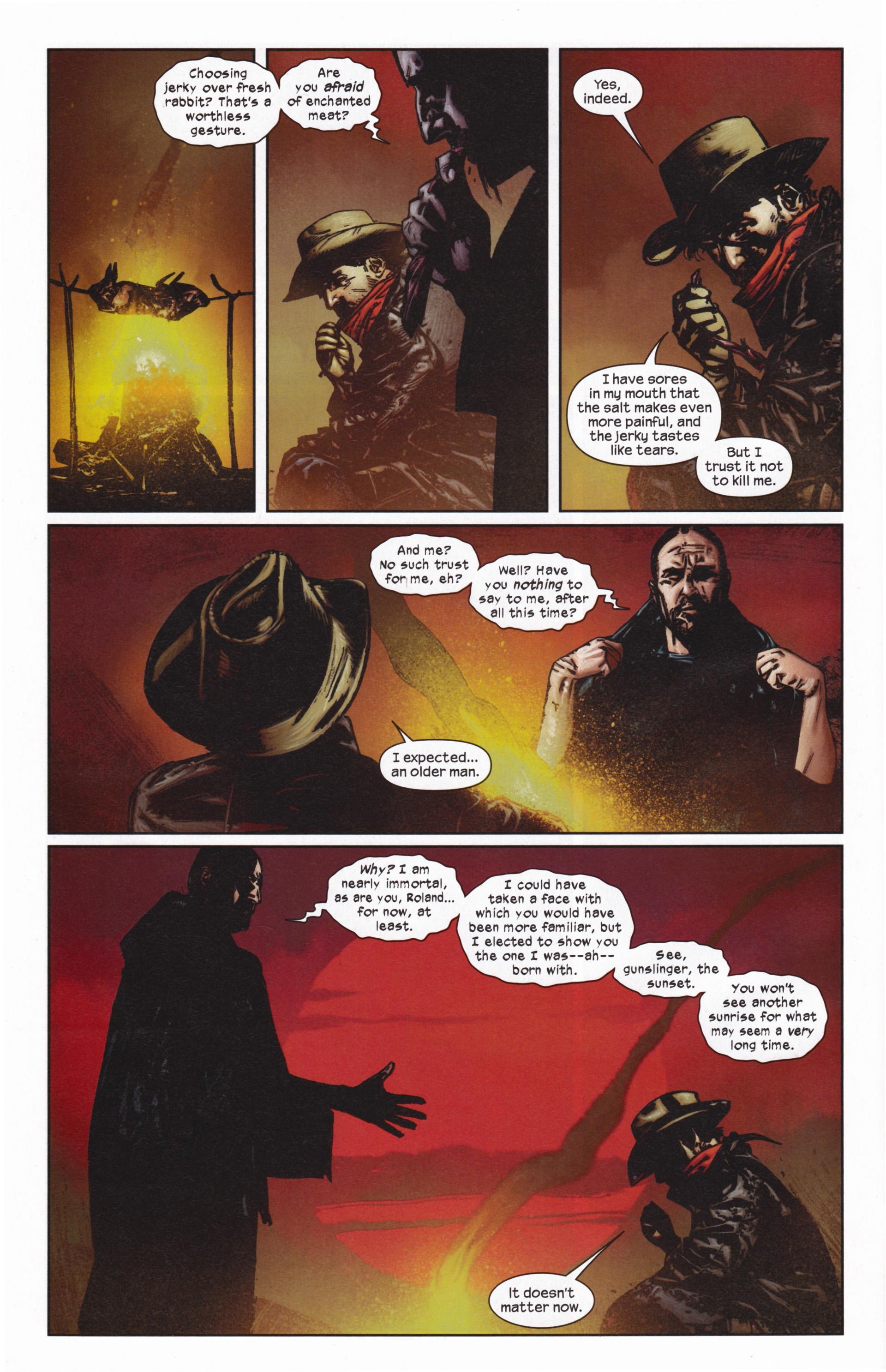Read online Dark Tower: The Gunslinger - The Man in Black comic -  Issue #5 - 7