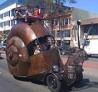 Snail Car Comes to Life - Oakland Tribune