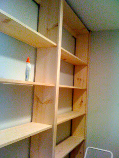 How to make book shelves