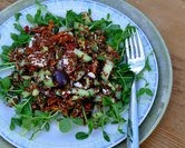 Red Quinoa Salad Your Way