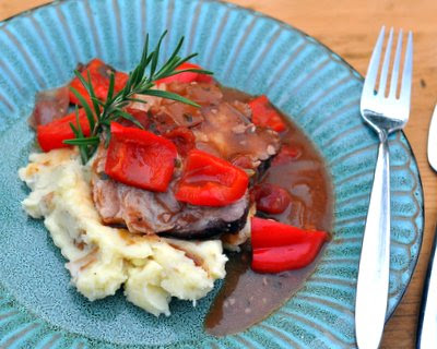 Wine-Braised Pork Roast