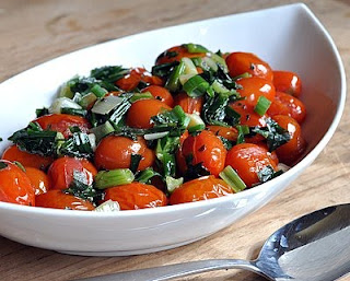 Herbed Grape Tomatoes