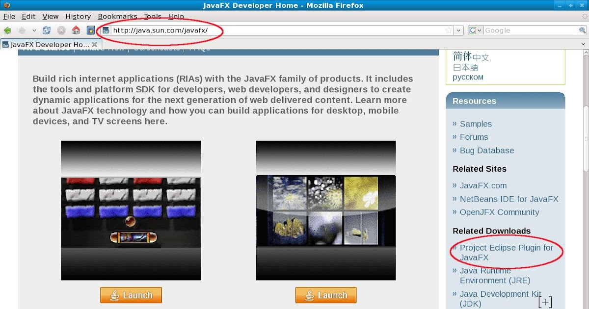 jcafe info: How to Instal JavaFX 1 1 plug-in for Eclipse on