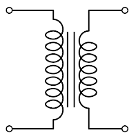 showing post media for transformer circuit symbol transformer symbol png 200x198 transformer circuit symbol