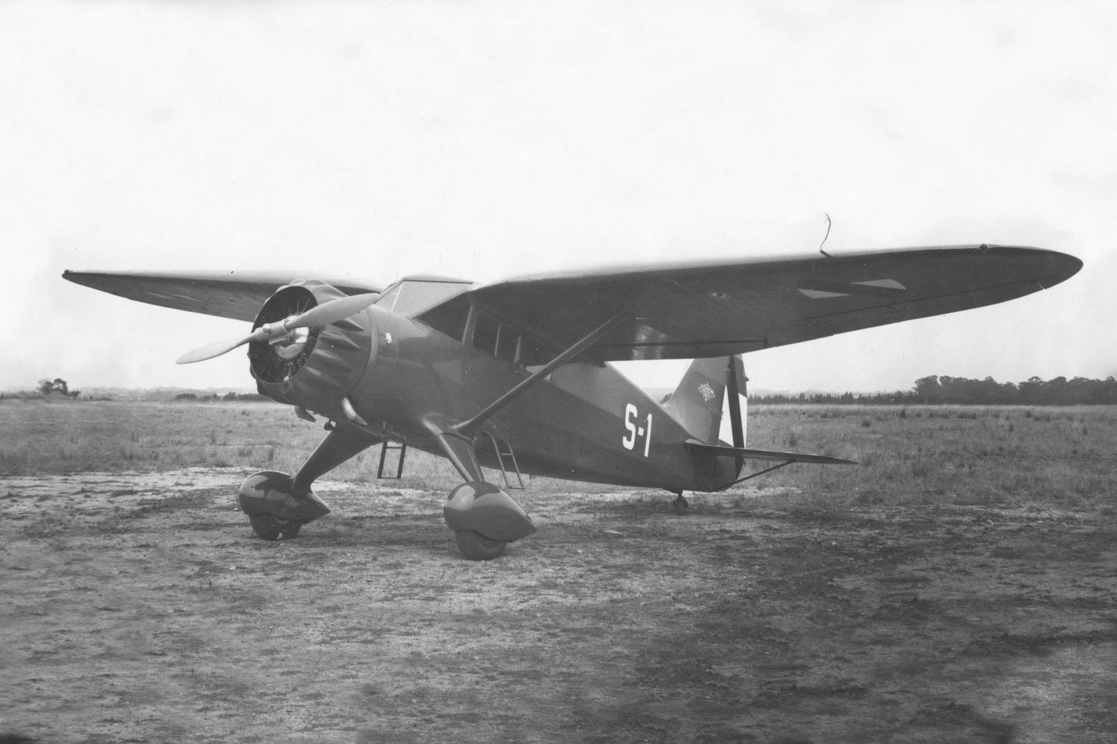 Aviación Civil Uruguaya: Stinson series en Uruguay - Series 10 y 108 por  Martín Blanco