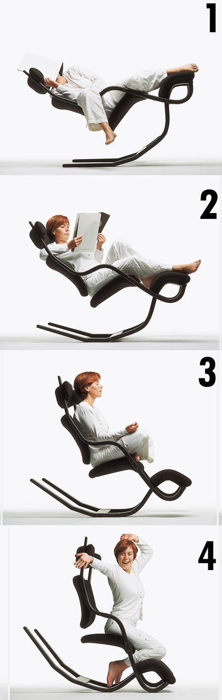 Gravity balans by means of Varier Chair Looks Out of This World, Lets You Feel ... - Gravity Balans Chair