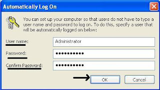 Automatically Log On @ Windows PC 3