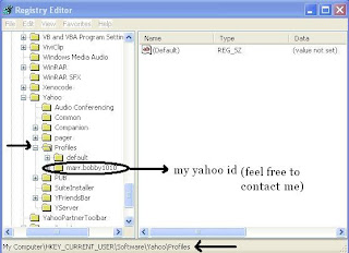 How-to Find Yahoo ids Used On A PC 2