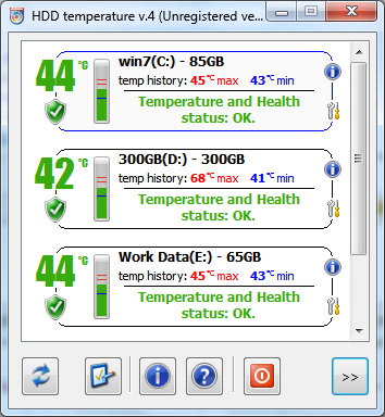 HDD Temperature - A Self-Monitoring, Analysis & Reporting Technology tool 2