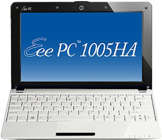 Asus Eee PC 1005HA Seashell 1