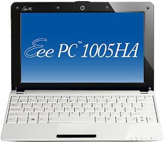Asus Eee PC 1005HA Seashell 1