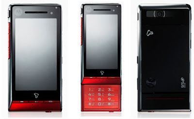 Motorola ROKR ZN50 Slider touch screen phone