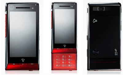 Motorola ROKR ZN50 - First ever slider touchscreen phone