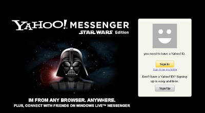 YAHOO! MESSENGER STAR WARS Edition