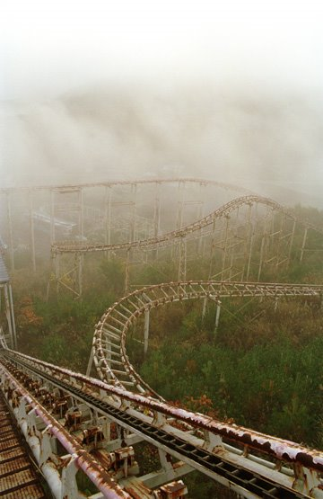 abandoned creepy theme park, Takakanonuma Greenland