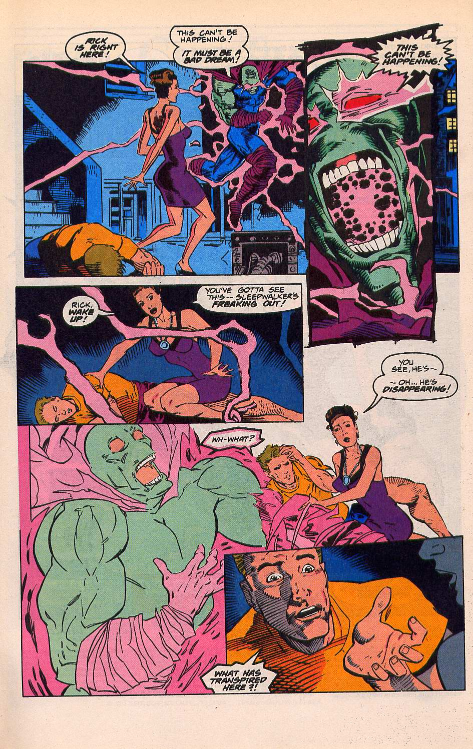 Read online Sleepwalker comic -  Issue #21 - 3