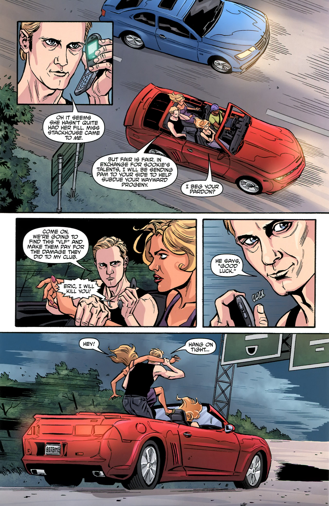 Read online True Blood: Tainted Love comic -  Issue #3 - 24