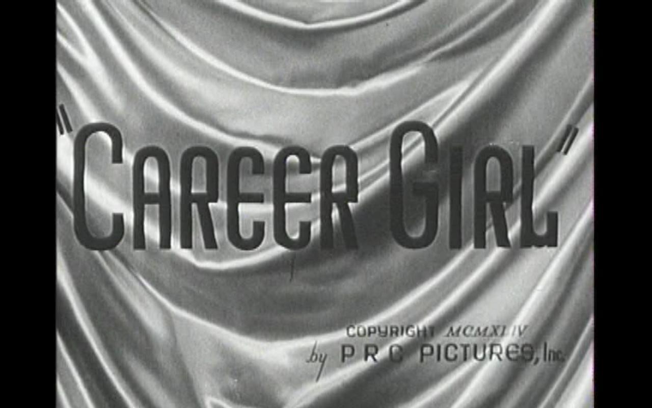 Java's Journey: Career Girl (1944) starring Frances Langford