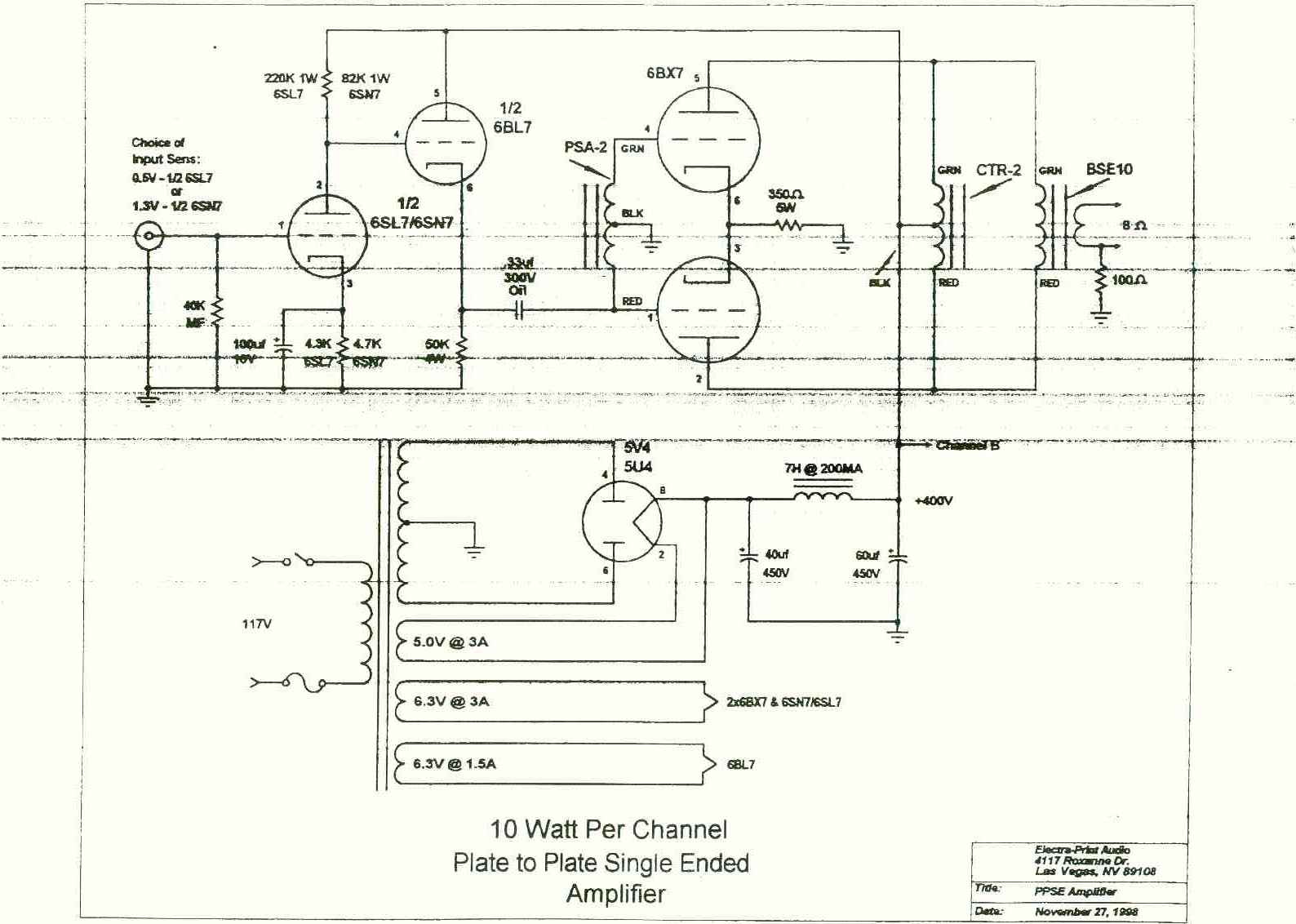 1 000 000 De Circuitos Eletronicos Audio Amp Tube 6bx7