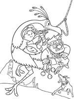 Kevin Dbujos Para Colorear De Kevin De La Pelicula Up Imprimir Y