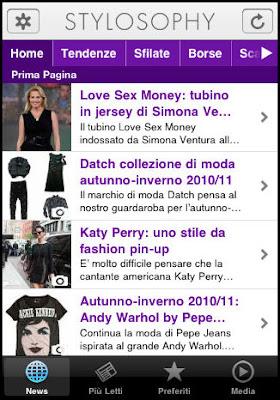 app della moda stylosophy