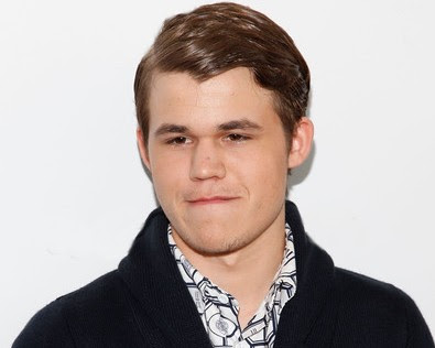 Magnus Carlsen on The Colbert Report