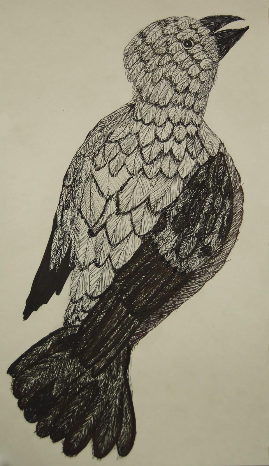 Flea Fair More Amazing 8th Grade Ink Drawings