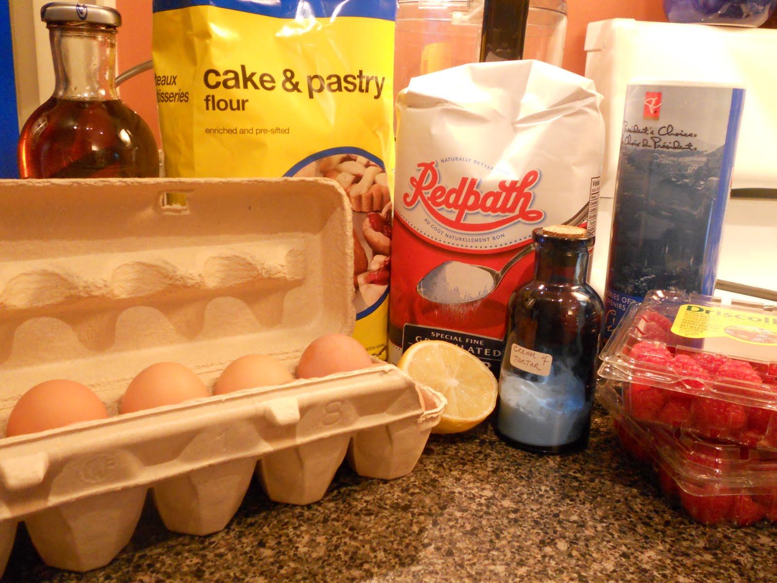 Messy Cake Baking