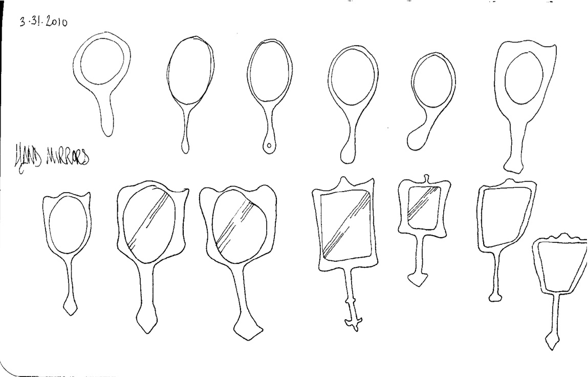 Daily Draw: Hand Mirrors