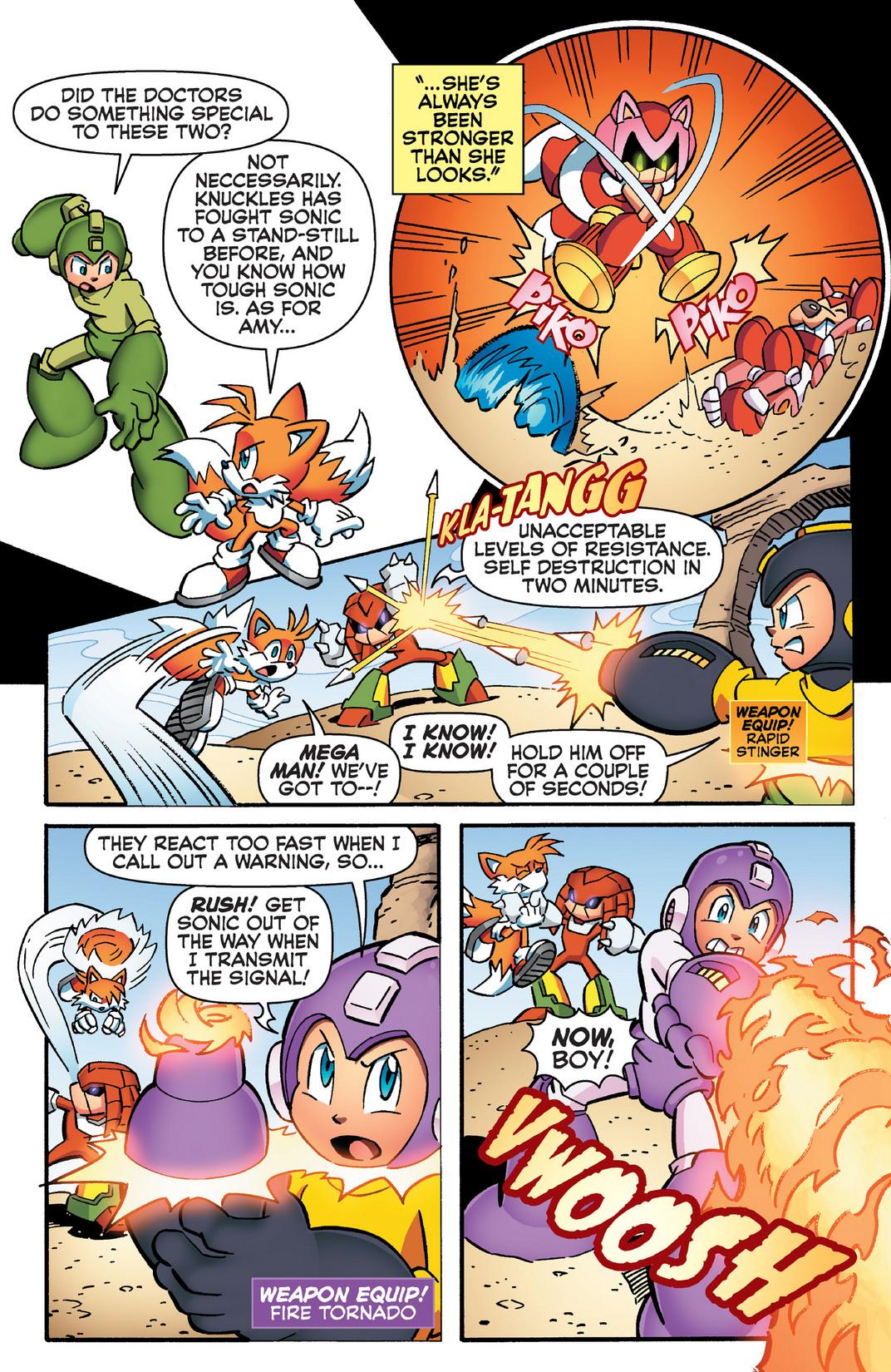Read online Sonic Mega Man Worlds Collide comic -  Issue # Vol 2 - 92