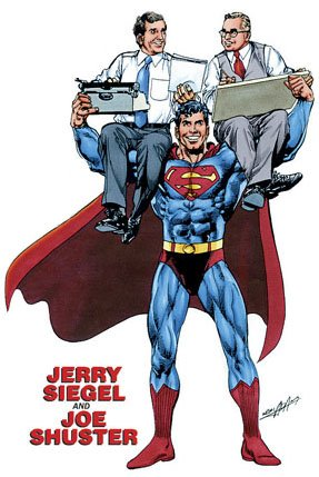 Superman created by Jerry Siegel and Joe Shuster. Drawn by Neal Adams.