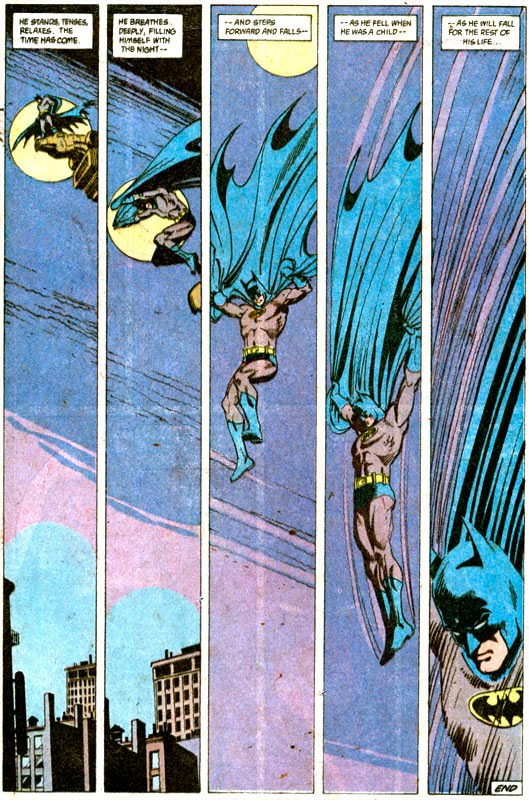 """The Man Who Falls"" drawn by Dick Giordano,"