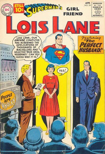 Superman's Girl Friend Lois Lane #24 Cover Art by Curt Swan, Stan Kaye.
