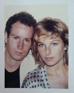 John McEnroe & Tatum O'Neal, 1985