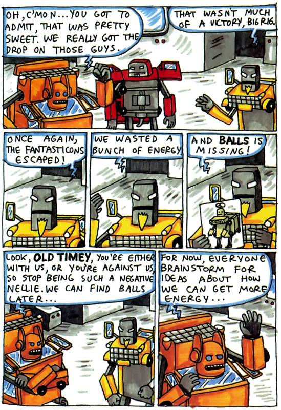 Incredible Change-Bots by Jeffrey Brown.
