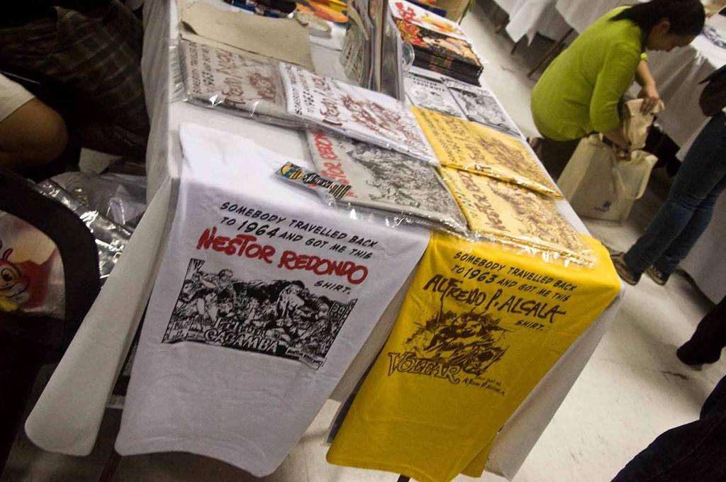 Komiks shirts