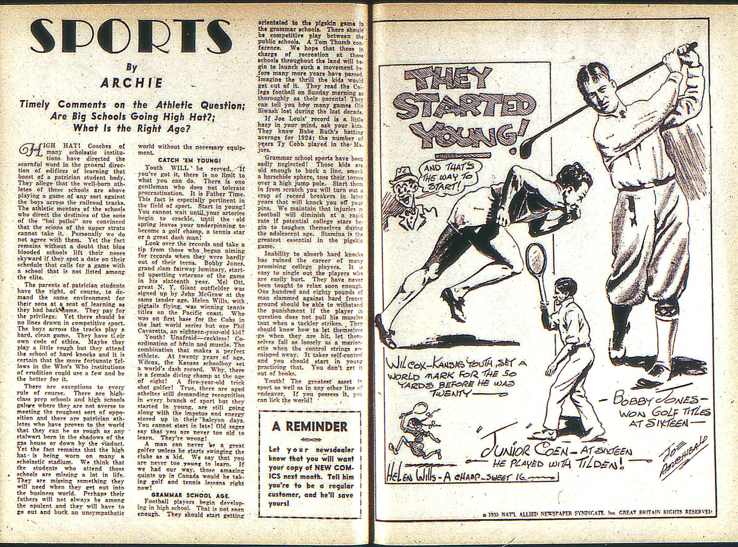 Read online Adventure Comics (1938) comic -  Issue #1 - 30