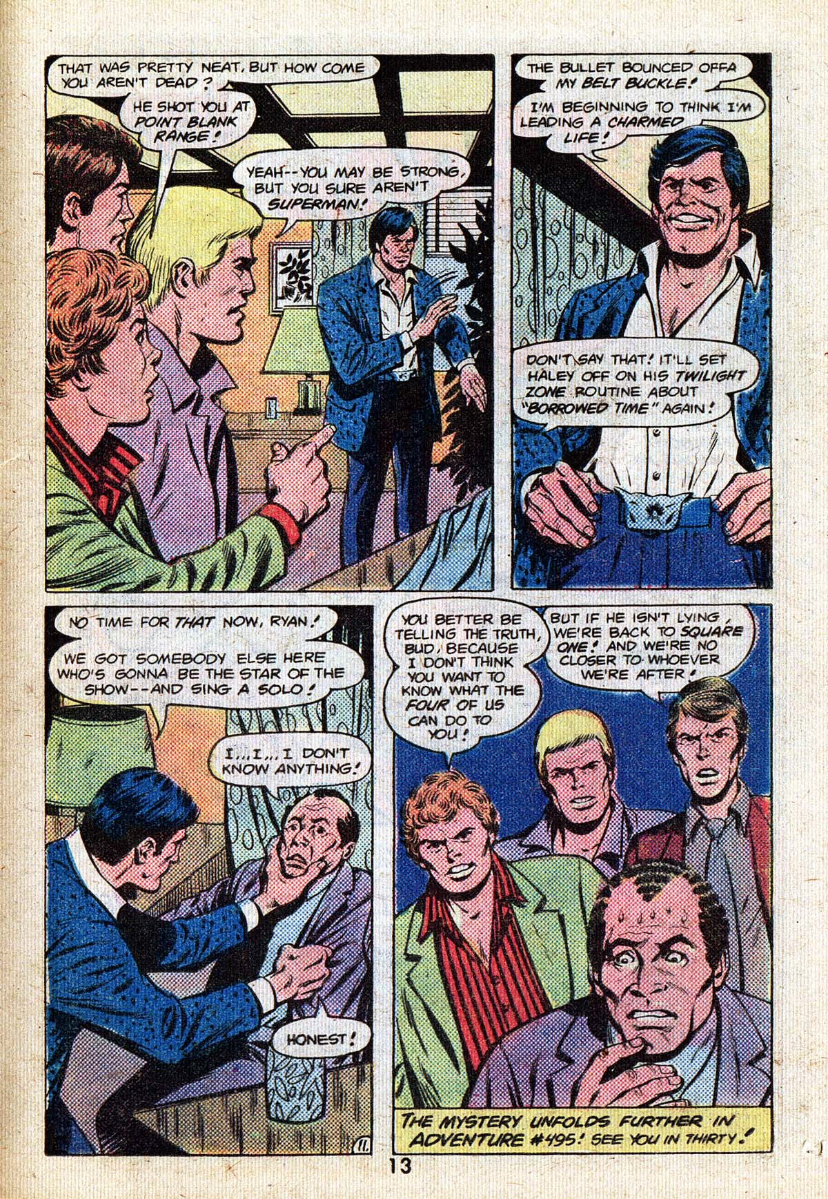 Read online Adventure Comics (1938) comic -  Issue #494 - 13