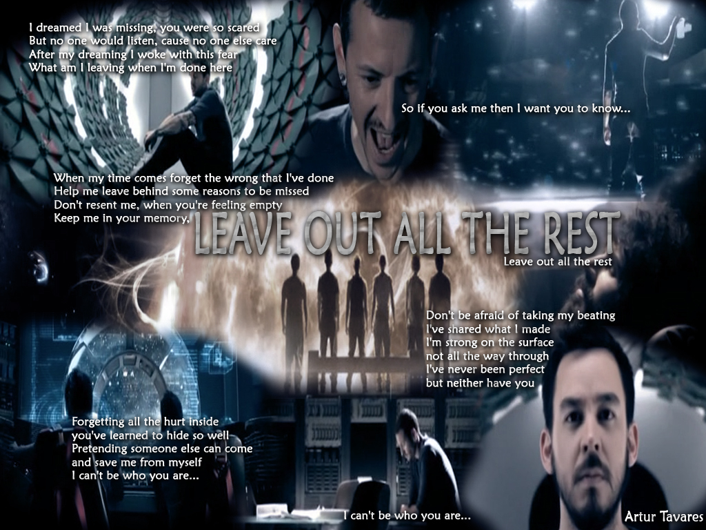 linkin park leave out all the rest mp3