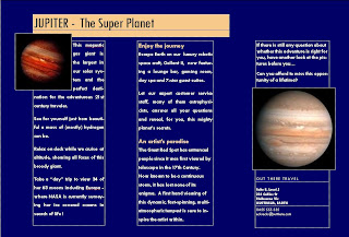 Planet Jupiter Brochure (page 3) - Pics about space