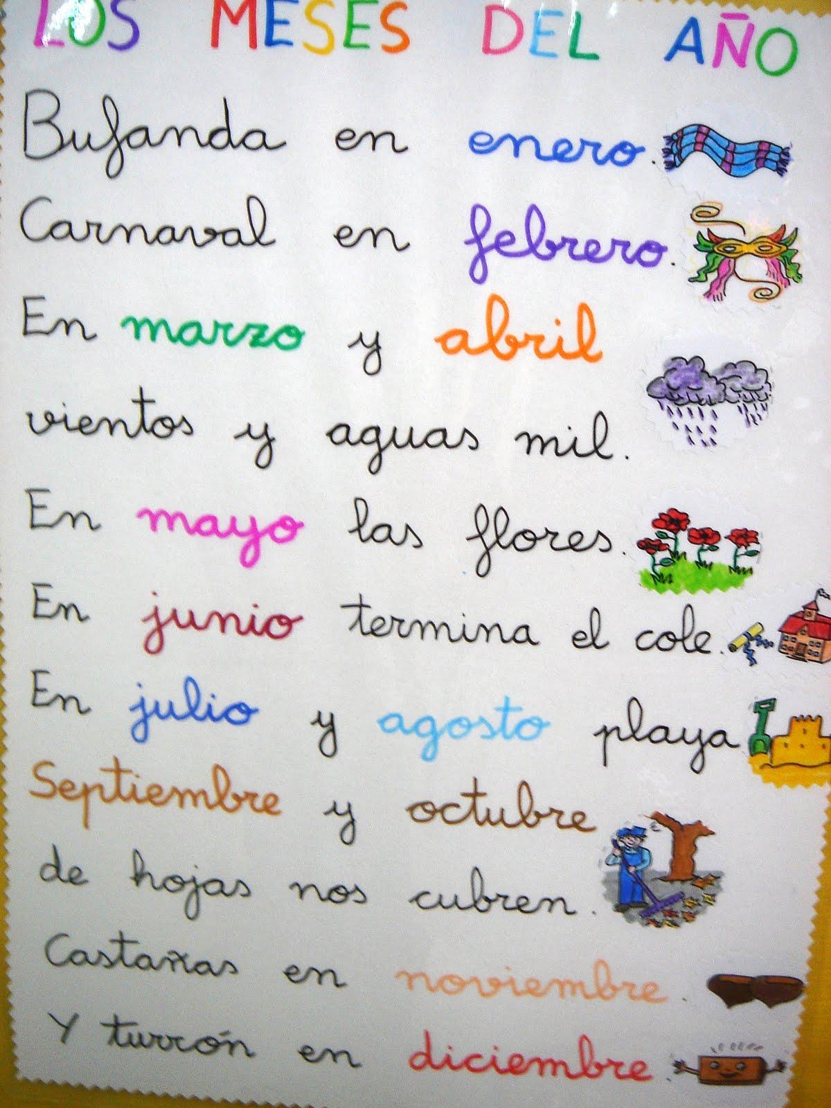 Juani Maestra Infantil Mi Mes De Mayo