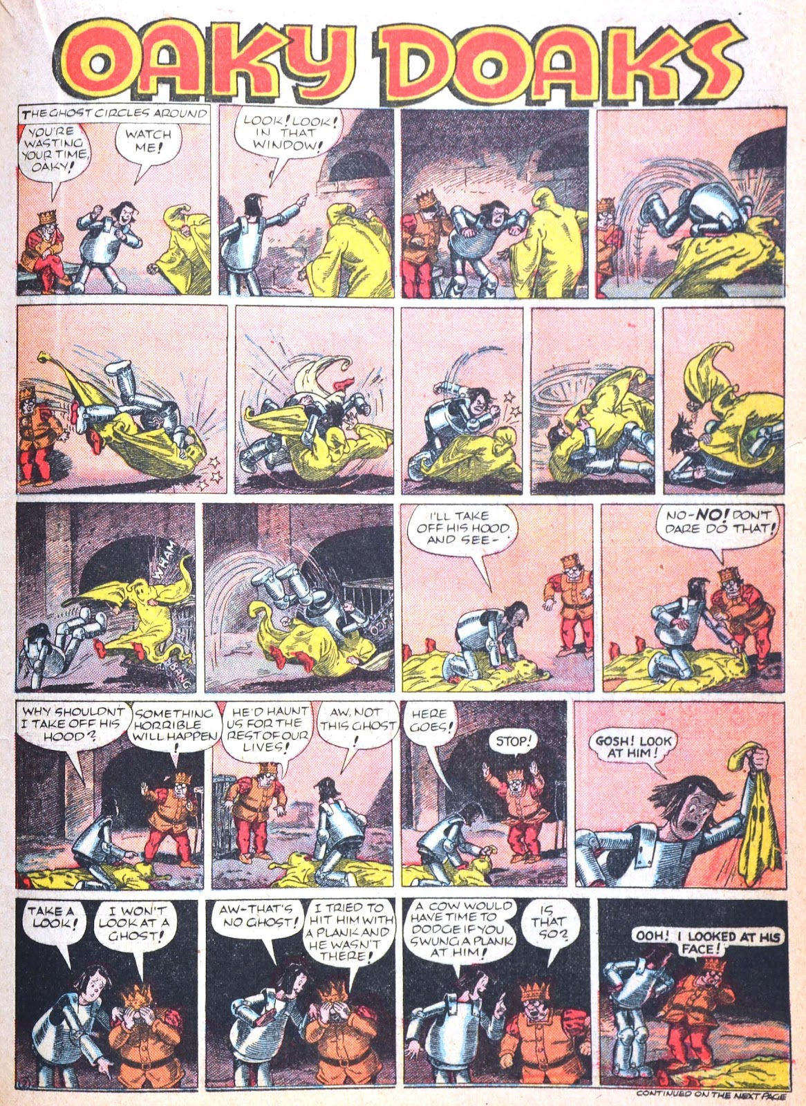Read online Famous Funnies comic -  Issue #52 - 39